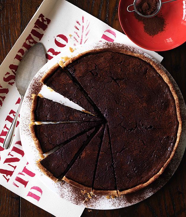 "**[Torta nera](http://www.gourmettraveller.com.au/recipes/browse-all/torta-nera-10118 target=""_blank"")**"