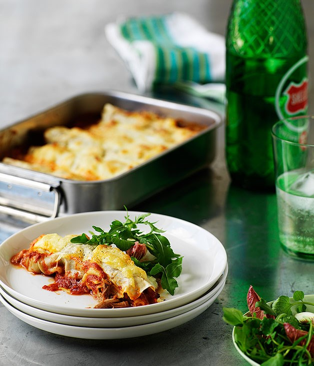 Pork and veal cannelloni