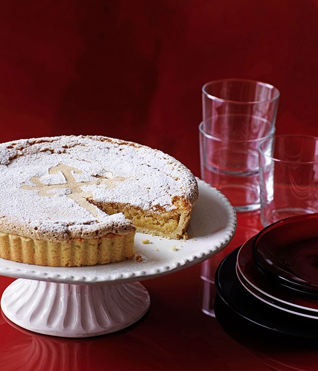 Galician almond tart