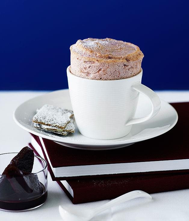 "**[Quince and Earl Grey soufflés](http://www.gourmettraveller.com.au/recipes/browse-all/quince-and-earl-grey-souffles-9733|target=""_blank"")**"