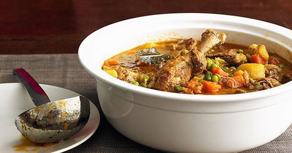 Duck And Vegetable Stew Gourmet Traveller