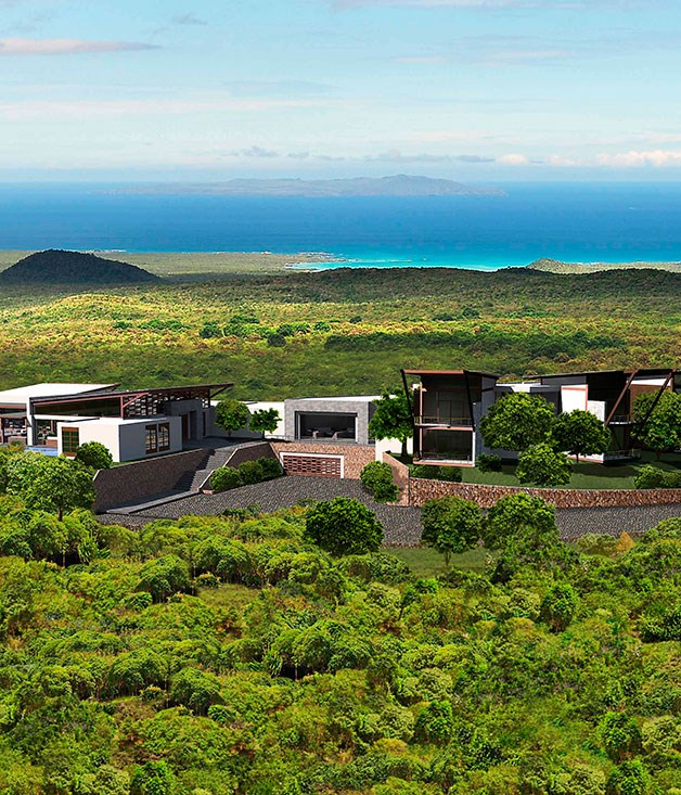 **** **Eco-lodge-y**   Pikaia Lodge in the Galapagos Islands.