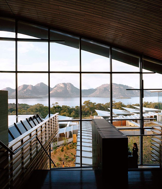 The view from Saffire Freycinet