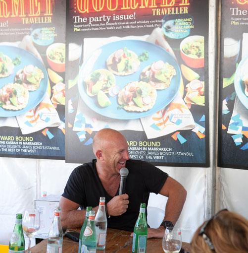 **** Chef Matt Moran, no holds-barred at the _GT_ Chef's Table.