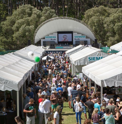 **** The Gourmet Village at Leeuwin Estate.