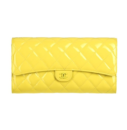 **** The perfect companion for the woman on the move, this striking yellow travel wallet from Chanel, $2060, comes in a handy clutch size with a removable passport holder and compartments in all the right places.      **[chanel.com.au](http://www.chanel.com.au)**