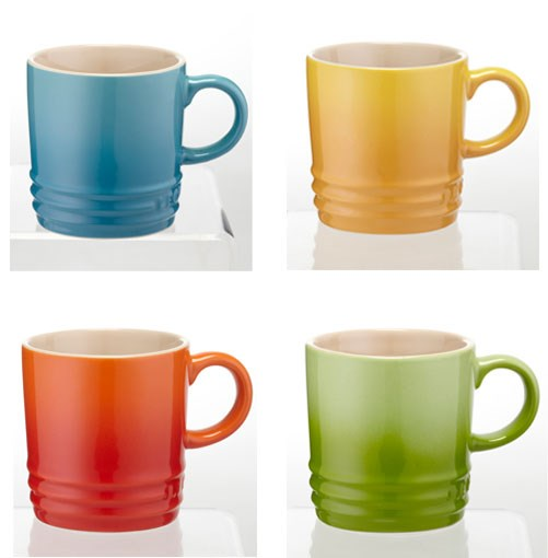 **** Stumped for secret Santa ideas? These espresso mugs from Le Creuset are just the thing. They're available in all 10 of the French brand's trademark colours and at $12.95 each they come pretty close to nailing the Kris Kringle spending limit.      **[lecreuset.com.au](http://Lecreuset.com.au)**