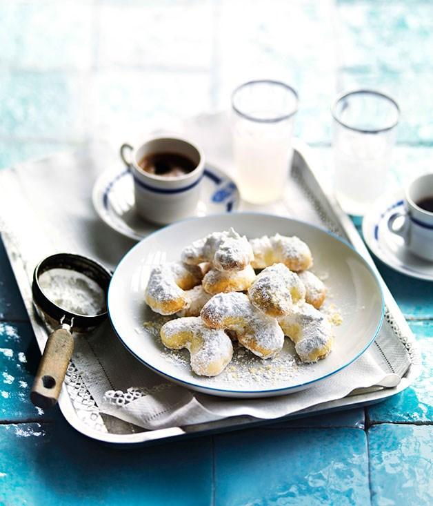 **Kourabiedes** **Kourabiedes**    [View Recipe](http://www.gourmettraveller.com.au/kourabiedes-1.htm)