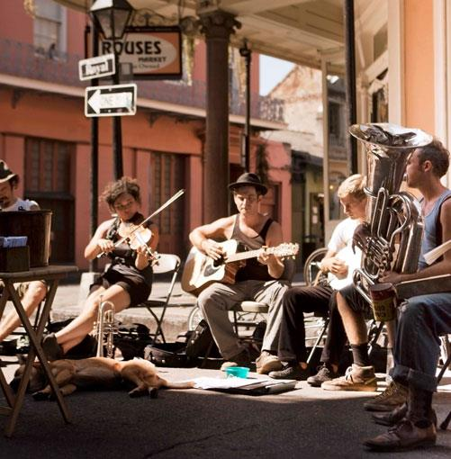 **New Orleans** **Rhythm & booze**   New Orleans, with its street music, cocktails and Creole cuisine, is a spicy, sweaty, bouncing metropolis unlike any other in the USA. Shane Mitchell heads south to the Big Easy.      **[Read the article](http://gourmettraveller.com.au/new-orleans.htm)**