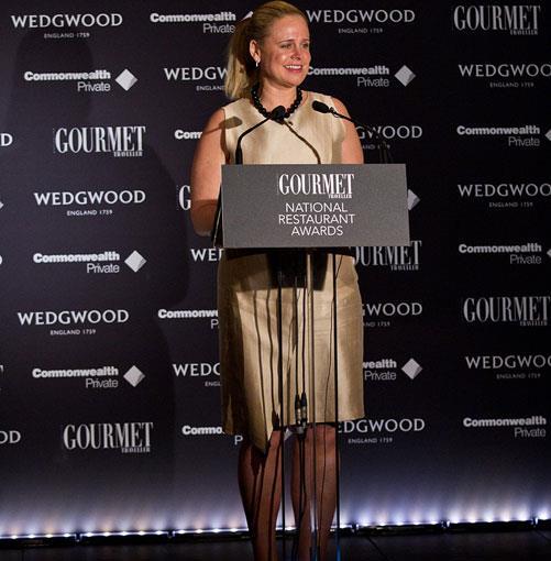 **** Georgina Garrity, Sales and Marketing Director of guide partner Wedgwood.