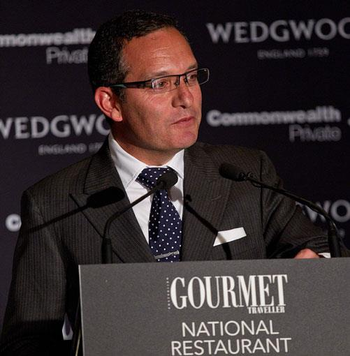 **** Adrian Hondros, Executive General Manager of guide partner Commonwealth Private.