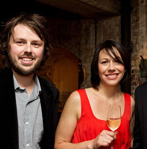 **** Regional Restaurant of the Year winners Aaron and Astrid Turner from Loam.
