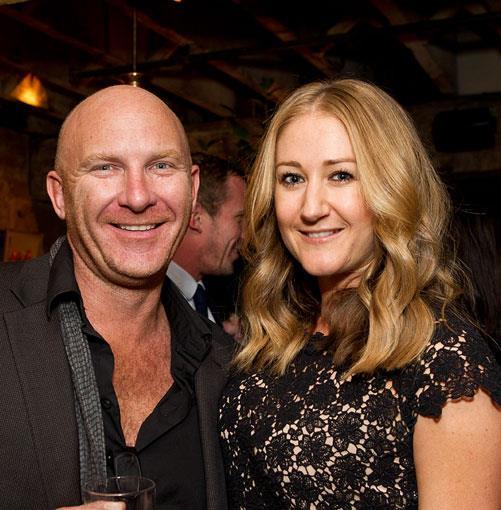 **** Chef Matt Moran and Estée Lauder's Alice Hampton.