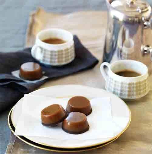 **Chewy salted caramel chocolates** **Chewy salted caramel chocolates**    [View Recipe](http://gourmettraveller.com.au/chewy_salted_caramel_chocolates.htm)     PHOTOGRAPH **WILLIAM MEPPEM**