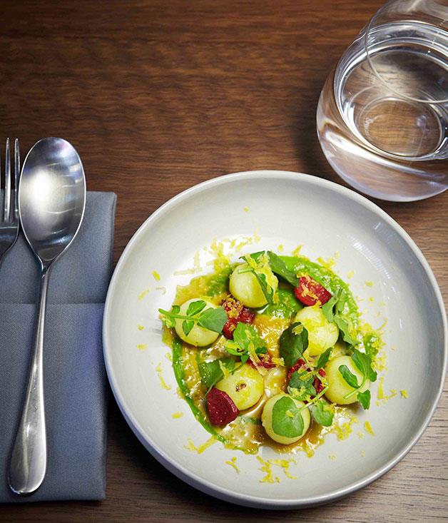 **NEW RESTAURANT OF THE YEAR** Momofuku Seiobo, Sydney, NSW   Forget the hype: even without the Momofuku prefix, Seiobo delivers, punching out some of the most interesting eats and drinks (not to mention tunes) in the country, a humming creative engine powering a wild but deeply assured ride.