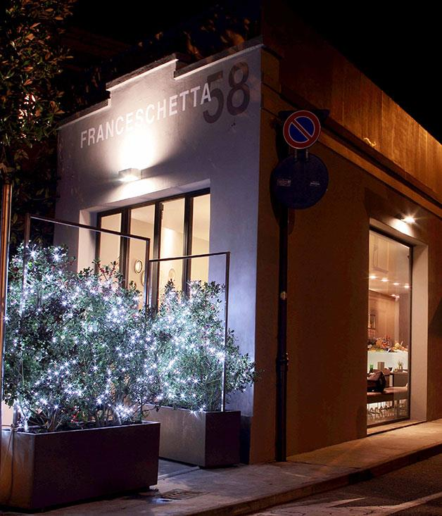 **** **Bistro, retread**   Franceschetta 58 is set in a former tyre shop in Modena.