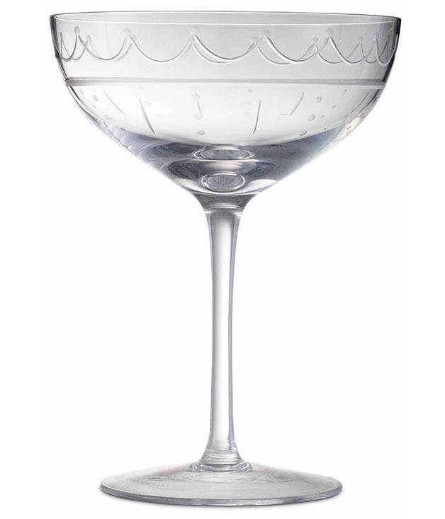**** **Cut and class**   The custom-made Champagne coupe from London's Connaught Hotel.      PHOTOGRAPHY PABLO MARTIN