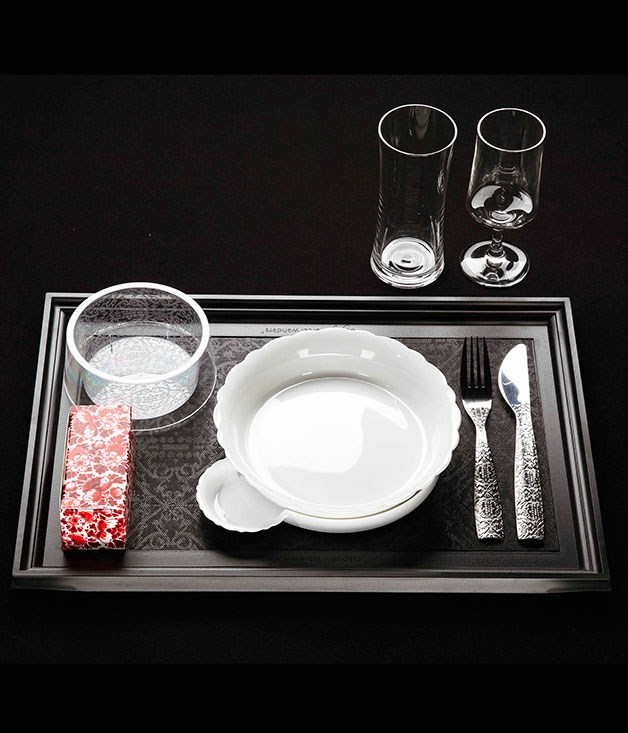 **** **Jet setting**   KLM's in-flight tableware by Marcel Wanders.
