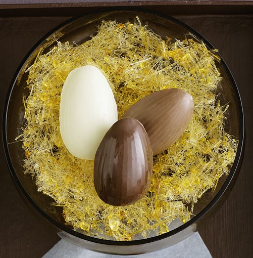 **Chocolate eggs** **Chocolate eggs**    [View Recipe](http://gourmettraveller.com.au/chocolate-eggs.htm)     PHOTOGRAPH **BEN DEARNLEY**