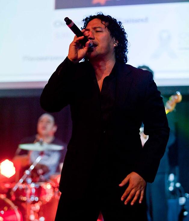 **** Headspace lead singer Tony Koda.