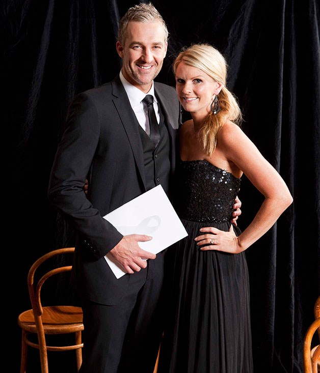 **** Co-host Dr Andrew Rochford and wife Jamie Nicholson.
