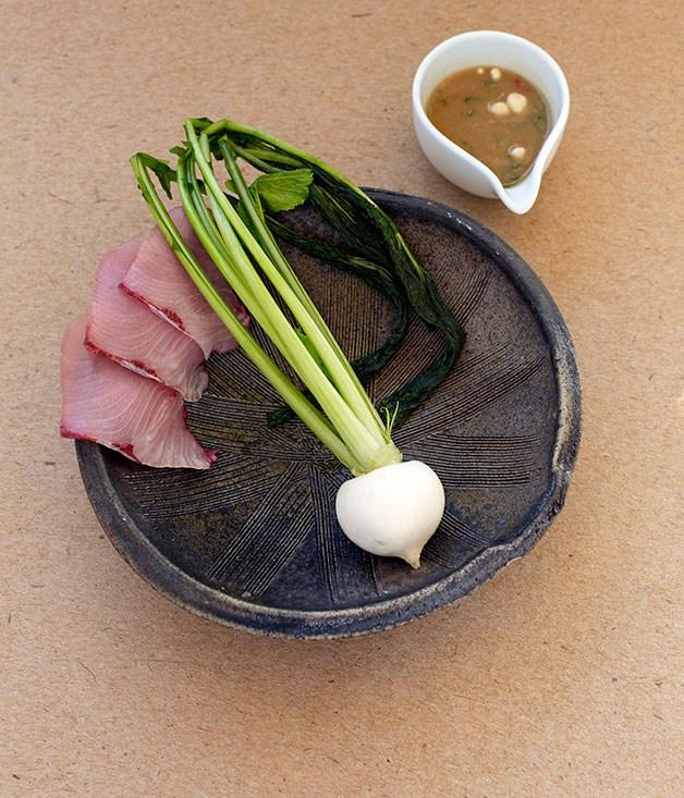**** Hansei by David Chang (Momofuku, New York), dish by Mayumi Miyawaki.
