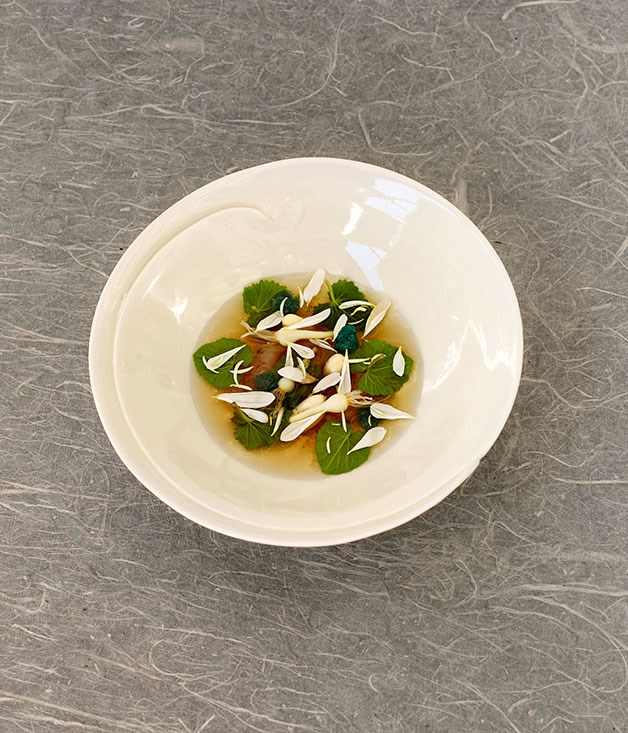 **** Dry Your Eyes Sweetheart by Ben Shewry (Attica, Melbourne), dish by Chung Wen Ting.