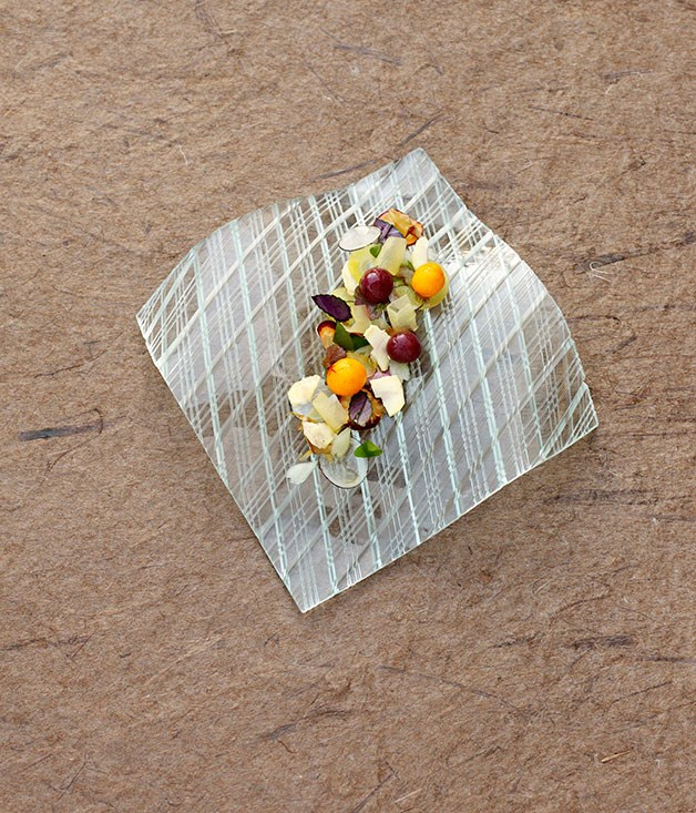 **** Strange Fruit by Tokuyoshi Yoji (Osteria Francescana, Modena), dish by Eriko Asano.