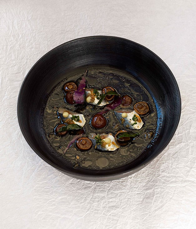**** Confused Mackerel by Albert Adria (Tickets, Barcelona), dish by Taro Oshima.