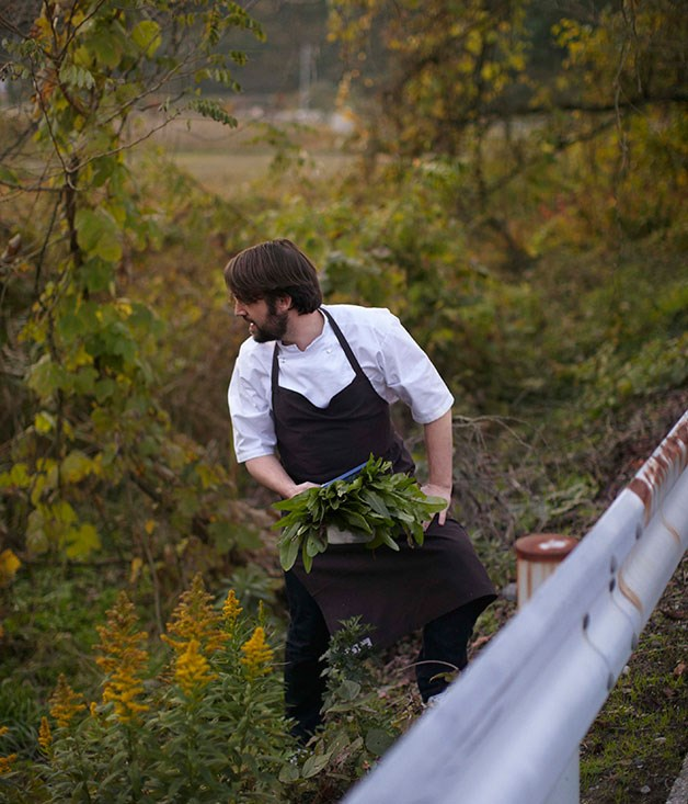 **** Known forager René Redzepi, of Noma restaurant, looks twice before he crosses the road.
