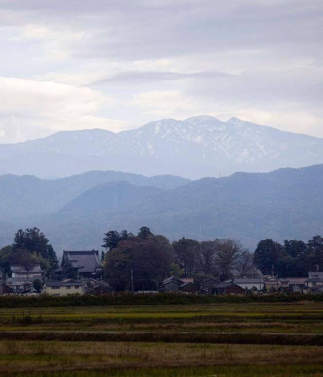**** The mountains of Ishikawa.