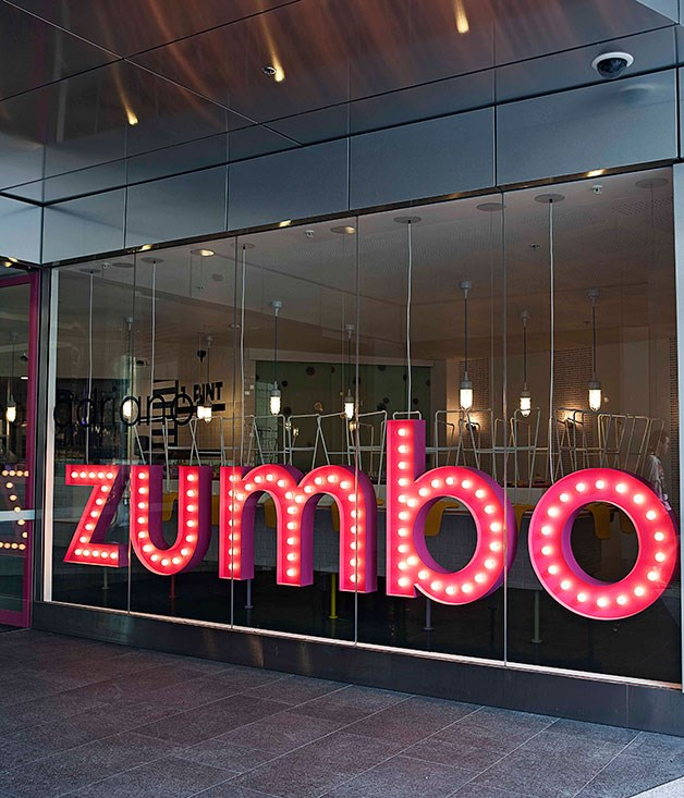 """**** Adriano Zumbo has a wild new pâtisserie (inspired by the boardgame Mouse Trap) that confirms his Wonka-esque tendencies, with a self-effacing bit of neon flashing """"I HEART ZUMBO"""" out the front and caramelised pumpkin seed """"Zumbarons"""" (Zumbo macarons, that is, folks) inside."""