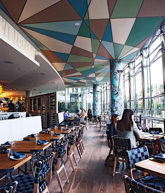 **** Inside Balla restaurant at The Star.
