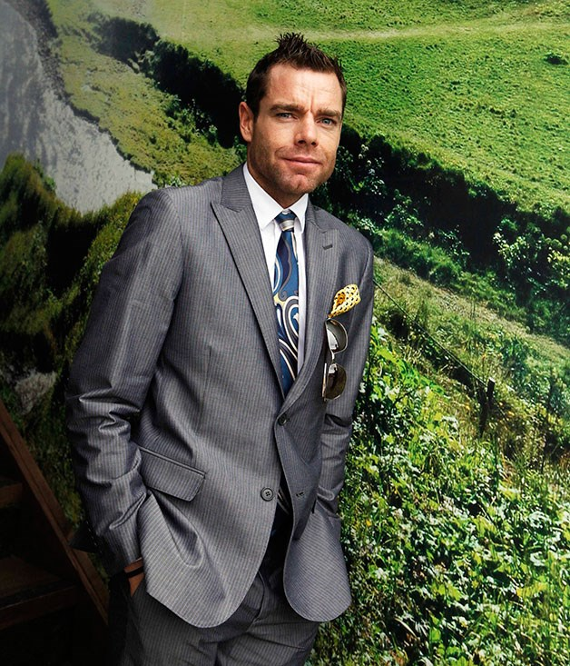 **** Cadel Evans at the Birdcage in 2011.