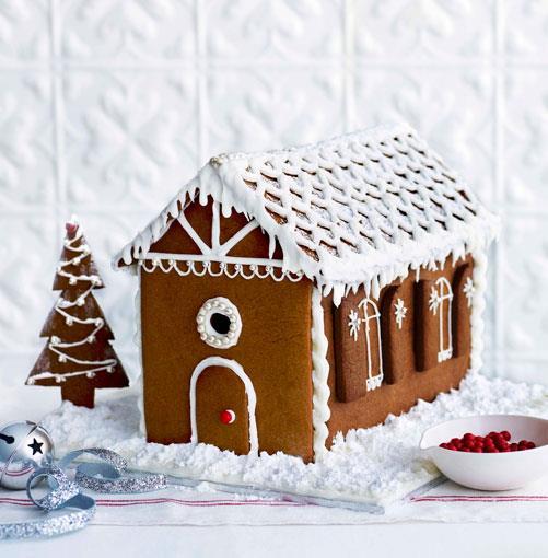 **** **Gingerbread house**    [View Recipe](http://www.gourmettraveller.com.au/gingerbread.htm)     PHOTOGRAPH **DEAN WILMOT**