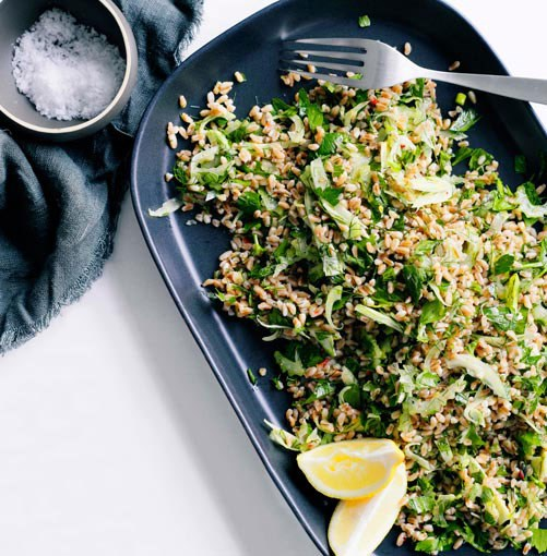 **** **Farro and fennel salad**    [View Recipe](http://www.gourmettraveller.com.au/farro-and-fennel-salad.htm)     PHOTOGRAPH **BEN DEARNLEY**