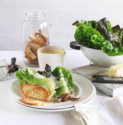 **** **Caesar salad**    [View Recipe](http://www.gourmettraveller.com.au/caesar-salad.htm)     PHOTOGRAPH **JASON LOUCAS**