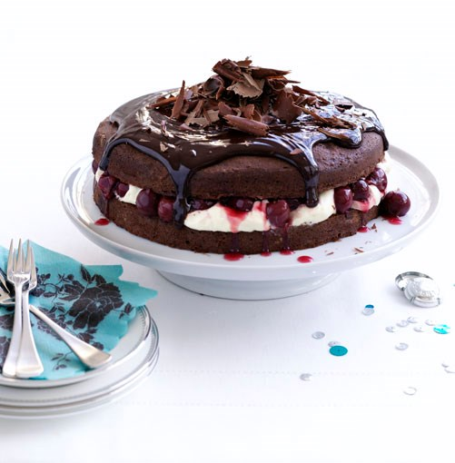 **Chocolate cherry cake** **Chocolate cherry cake**    [View Recipe](http://gourmettraveller.com.au/november_chocolate_cherry_cake.htm)     PHOTOGRAPH **BEN DEARNLEY**