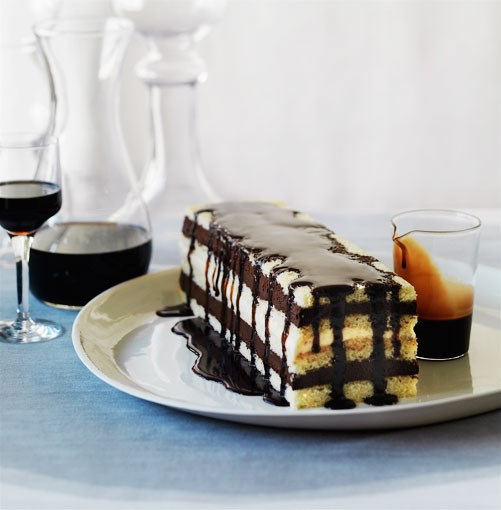 **Mocha layer cake** **Mocha layer cake**    [View Recipe](http://gourmettraveller.com.au/mocha-layer-cake.htm)     PHOTOGRAPH **WILLIAM MEPPEM**