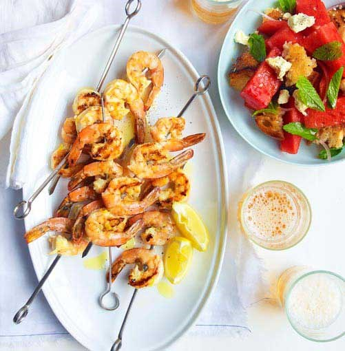 Spring seafood recipes