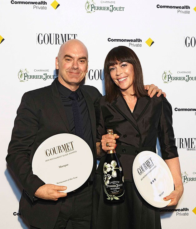 **Mark and Valerie Best** Restaurant of the Year winners Mark and Valerie Best from Marque restaurant.