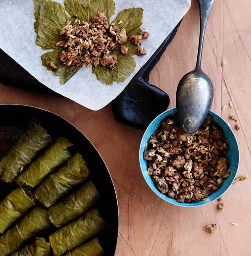 **Lamb dolmades** **Lamb dolmades**    [View Recipe](http://www.gourmettraveller.com.au/lamb-dolmades.htm)     PHOTOGRAPH **WILLIAM MEPPEM**