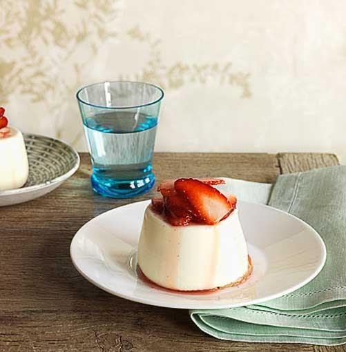 **Sheeps milk yoghurt panna cotta** **Sheeps milk yoghurt panna cotta**    [View Recipe](http://www.gourmettraveller.com.au/sheeps-milk-yoghurt-panna-cotta.htm)     PHOTOGRAPH **JASON LOUCAS**