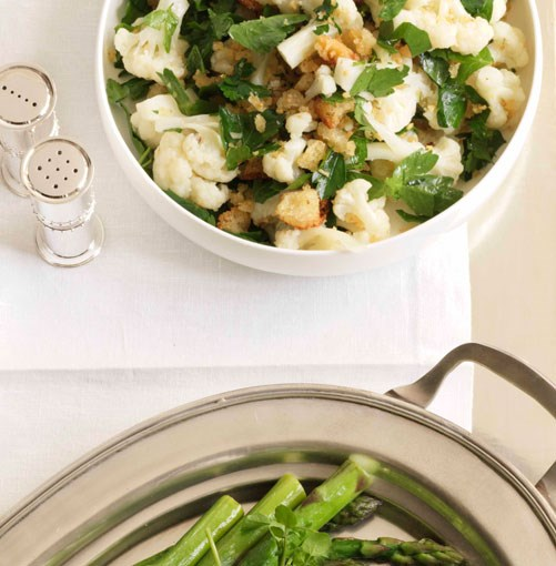 **Cauliflower and persillade** **Cauliflower and persillade**    [View Recipe](http://www.gourmettraveller.com.au/cauliflower_and_persillade.htm)     PHOTOGRAPH **JASON LOUCAS**