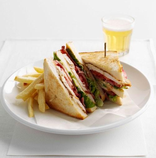 **Club sandwich** **Club sandwich**    [View Recipe](http://www.gourmettraveller.com.au/club_sandwich.htm)     PHOTOGRAPH **BRETT STEVENS**