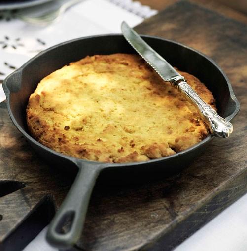 **Cornbread** **Cornbread**    [View Recipe](http://www.gourmettraveller.com.au/cornbread.htm)     PHOTOGRAPH **WILLIAM MEPPEM**