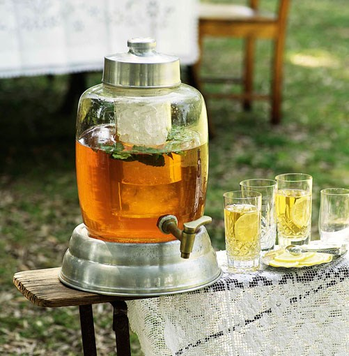 **Iced tea** **Iced tea**    [View Recipe](http://www.gourmettraveller.com.au/iced_tea.htm)     PHOTOGRAPH **WILLIAM MEPPEM**