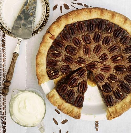 **Pecan pie** **Pecan pie**    [View Recipe](http://www.gourmettraveller.com.au/pecan_pie.htm)     PHOTOGRAPH **WILLIAM MEPPEM**