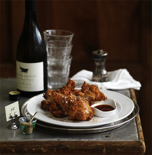 **Crisp Southern fried chicken** **Crisp Southern fried chicken**    [View Recipe](http://www.gourmettraveller.com.au/crispy-southern-fried-chicken.htm)     PHOTOGRAPH **WILLIAM MEPPEM**
