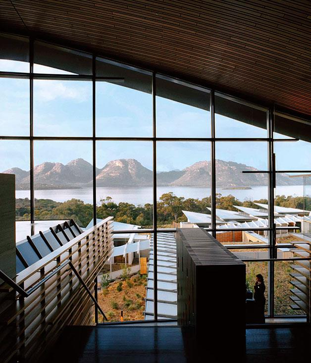 **Saffire Freycinet, Tas** **EXPERT PANEL AWARDS**   Best New Hotel, Resort or Lodge: Saffire Freycinet, Tas   Runner-up: Crown Metropol, Vic   When Saffire debuted last June it was obvious it would swiftly join the ranks of Australia's most desirable resorts. That showstopping view across Great Oyster Bay to the granite hulk of the Hazards and beyond is enough to arouse wanderlust in the most sensible of souls. Dream location aside, Saffire's other strong qualities are its size – just 20 luxurious suites among the peppermint gums – and sweeping architecture. Shaped like the stingrays that glide through the clear waters below, the main hall features a graceful roofline of celery-top pine and expansive glass walls that frame the views from every angle. Natural finishes resonate with the untouched environment outdoors, where invigorating outings to Freycinet National Park await. www.saffire-freycinet.com.au   PHOTOGRAPHY **LUKE BURGESS**